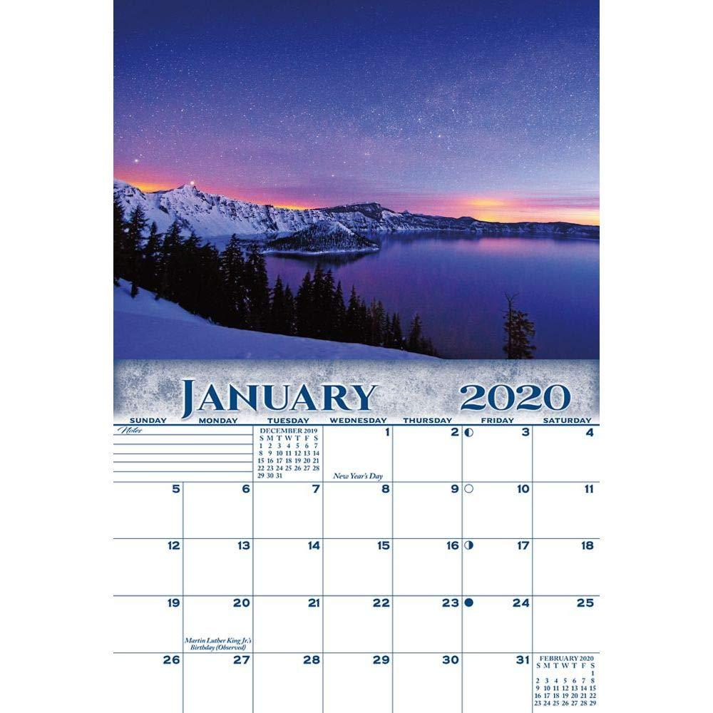 Winter 2020 Smc.2020 National Parks Wall Calendar By Smith Southwestern