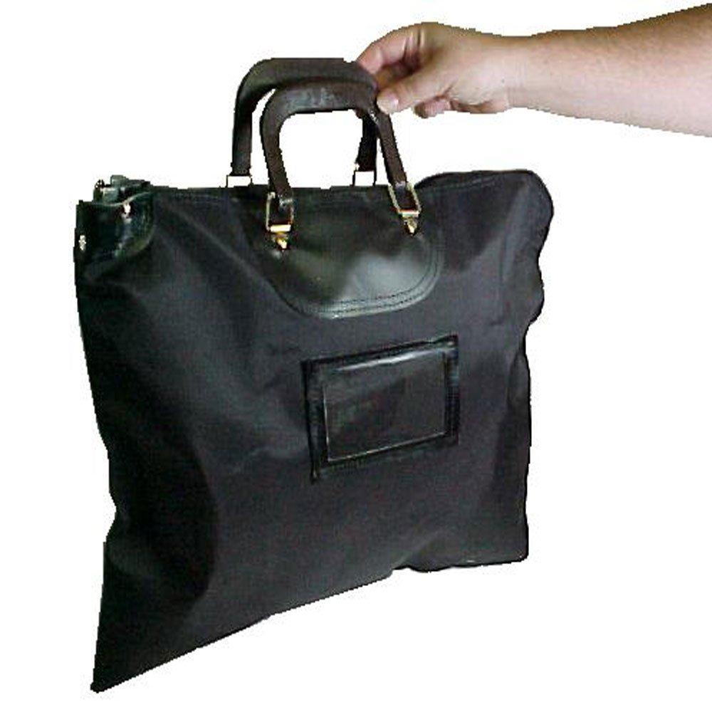Black HIPAA Locking Courier Bags w/Handles BankSupplies Inc.