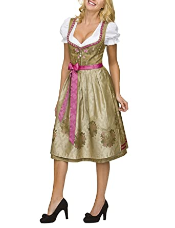 Stockerpoint Damen Dirndl Lorena, Gold (Gold), 40