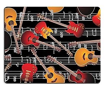 Alfombrillas para guitarra acústica y guitarra eléctrica Seamless ...