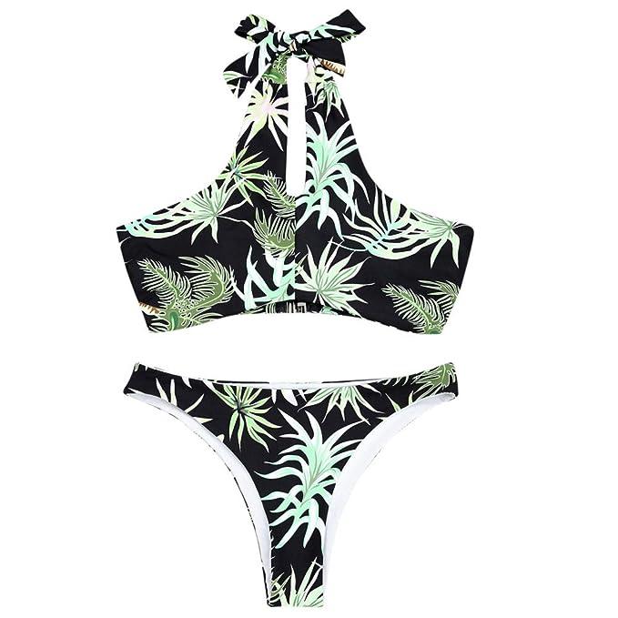 03c6ba0c2ce4 CANDLLY Mujeres Traje de Baño, Sexy Playa Trajes de Baño de Dos ...