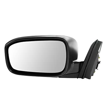 Mirror Power Heated Black Driver Side Left LH for 03-07 Honda Accord Coupe
