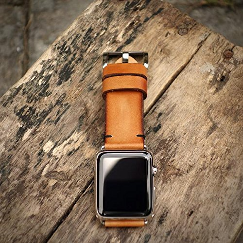 Custom 22mm Handmade Premium Calf Leather Watch Band Gunny Straps - 2010 Serie by Gunny Store