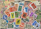 Netherlands 200 different stamps Dutch Colonies with independent states (Stamps for collectors)