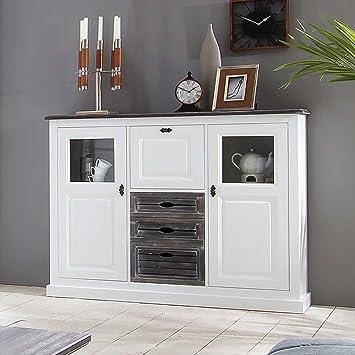 Esszimmer Sideboard Im Landhausstil Weiß Grau Pharao24
