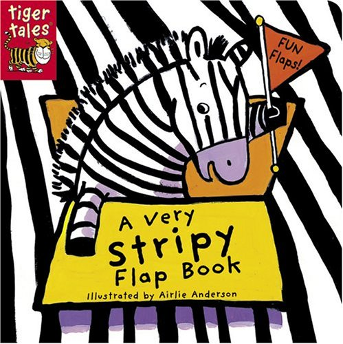 A Very Stripy Flap Book (Pattern Flap Board Books)