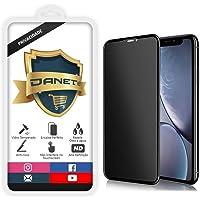 """Película De Privacidade Vidro Temperado Para Apple iPhone 11 e Xr Tela 6.1"""" Polegadas Proteção Anti Impacto E Curioso Top Spy Premium 3d - Danet"""