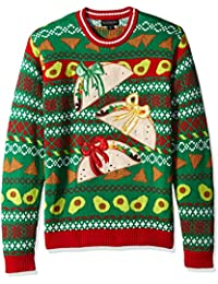 Men's Ugly Christmas Sweater Food