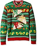 Blizzard Bay Men's Ugly Christmas Sweater Food, Light Green, Small