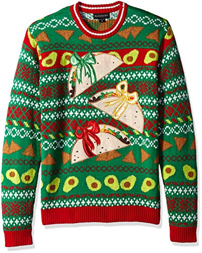 Food Themed Ugly Christmas Sweater