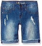 LEE Big Girls' Fashion Bermuda Short, Planet Blue, 12