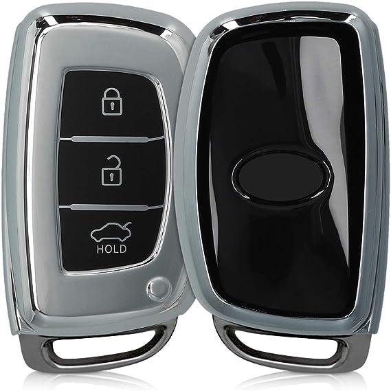 Kwmobile Autoschlüssel Hülle Kompatibel Mit Hyundai Kia Elektronik