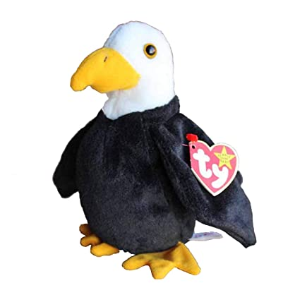 Image Unavailable. Image not available for. Color  TY Beanie Baby Baldy ... 08a0ed24445d