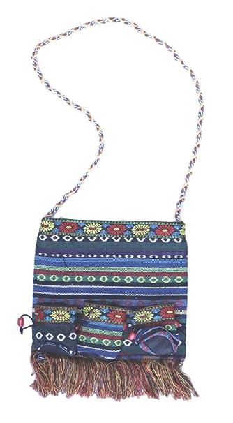 Buy Bohemian Hobo Crossbody Hippie Bag Handmade In Bali By Bali Thai