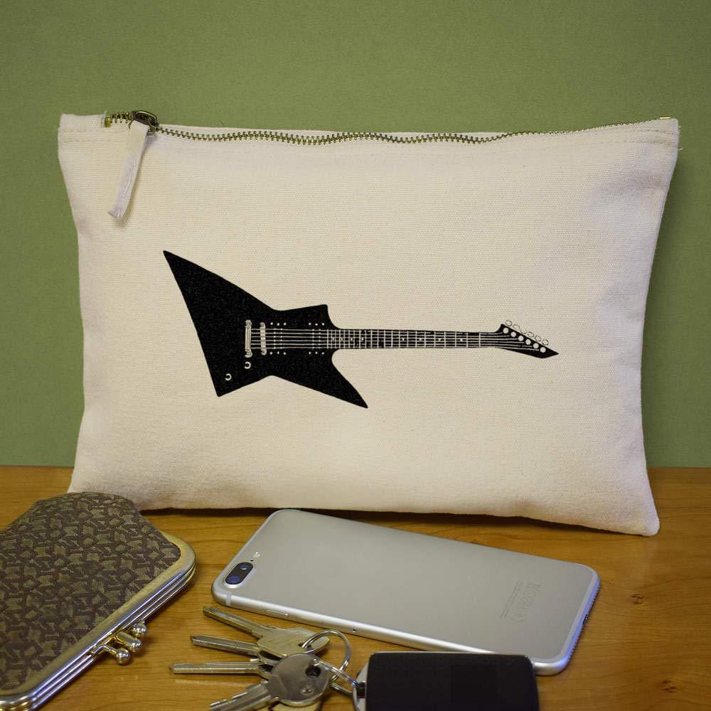 Azeeda Guitarra Eléctrica Bolso de Embrague / Accesorios Case (CL00001730): Amazon.es: Juguetes y juegos