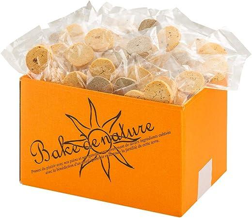 ベイク・ド・ナチュレスーパーフード豆乳おからクッキー[10種類詰め合わせ/1㎏]ダイエットクッキーグルテンフリー(個包装)