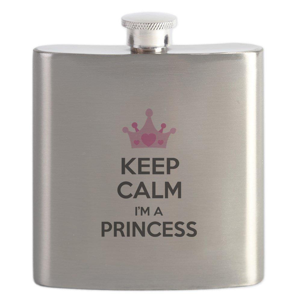 入園入学祝い CafePress – m Keep – Calm – I ' m a Princess – ステンレススチールフラスコ、6オンスDrinkingフラスコ B01IUFCGJO, ネットショップひので:bef658ed --- umniysvet.ru