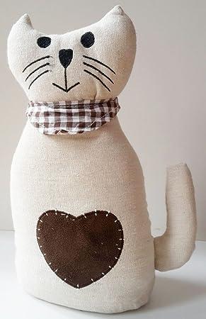 Türstopper Katze Zuschlagbremse Türhalter Puffer Türbremse Doorstop Deko