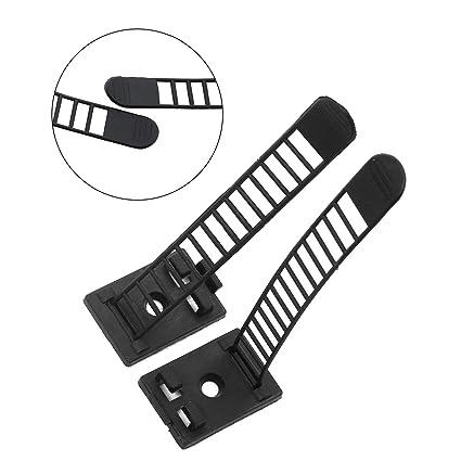 Amazon Com Magicshell 100pcs 92mm Adjustable Self Adhesive Cable