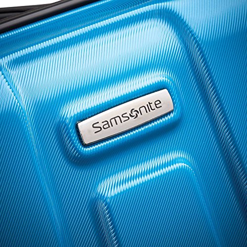 Samsonite Centric Expandable Hardside Checked Luggage with Spinner Wheels, 28 Inch, Caribbean Blue