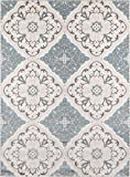 Momeni Rugs  Brooklyn Heights Collection Area Rug, 5'3″ x 7'6″, Ivory