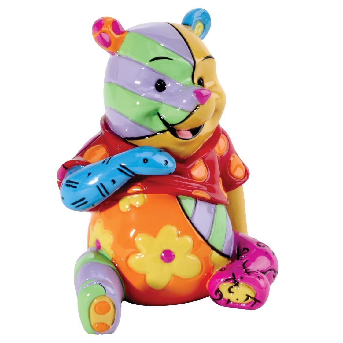 Disney Britto Winnie The Pooh Mini Figurine Enesco 4026296