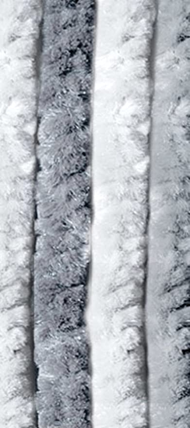Tende Da Esterno In Ciniglia.Verdelook Tenda Ciniglia Da Sole Dimensioni 100x220 Cm Bianco Grigio Numero Di Fili 24