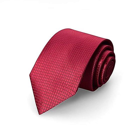 LFOZ Corbata/Traje de Hombre/Boda Vestido Rojo Corbata / 8CM ...
