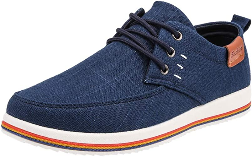 Ulanda-EU Mens Casual Flats Shoes Men