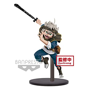 Banpresto Black Clover DXF Figure-ASTA-(Ver.A) Multiple Colors: Toys & Games