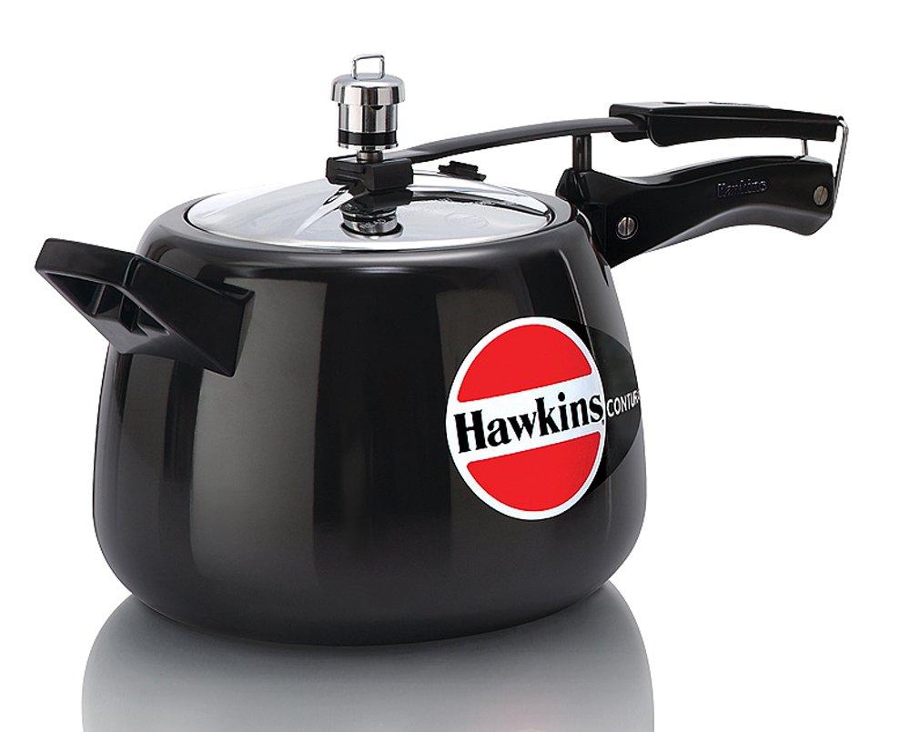 Hawkins M47 Contura Hard Anodized Pressure Cooker, 4-Liter