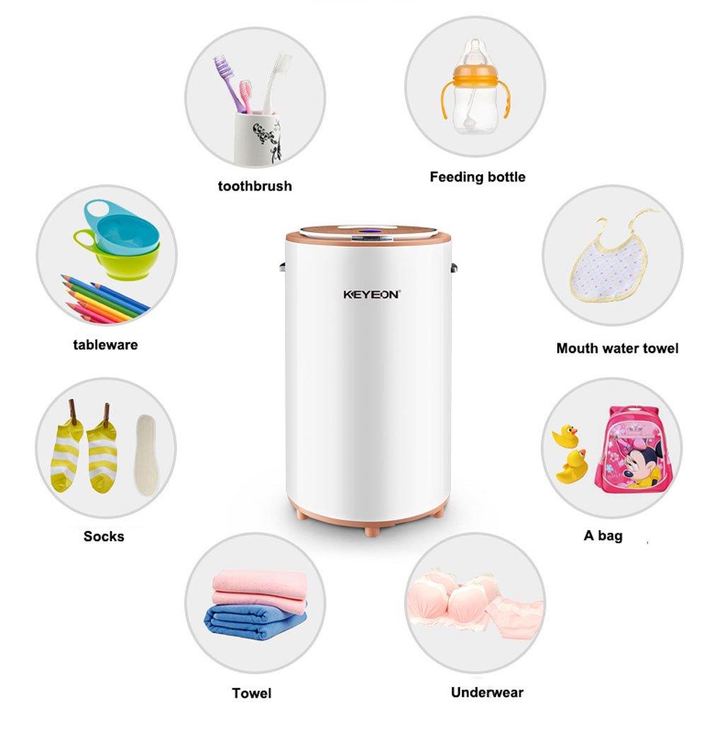 Esterilizadores Esterilizador ultravioleta de la ropa interior, limpiador multiusos, voltaje clasificado 220V, conveniente para la ropa interior adulta, ...