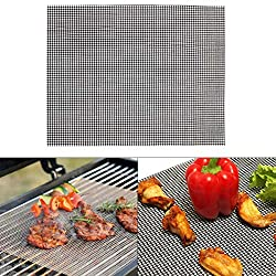 Other Bbq Tools Bbq Environmentally Friendly Reusable Barbecue Mat Grill Replacement Mesh Net Tools Other Other Grill Mesh Barbecue Sheet Stainless Steel Wire Teflon Grille Charcoal Liner