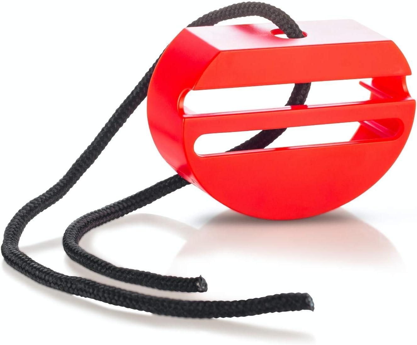 Wididi Pinza de bloqueo para el cinturón de seguridad del coche – Protector de ajuste universal para mantener abrochado el cinturón de seguridad – Accesorios de autos – Rojo