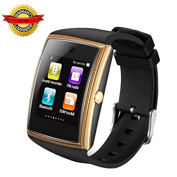 Amazon.com: Waterproof Smart Watch Bluetooth Smartphones HD ...