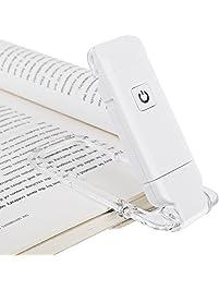Led book reading light clip