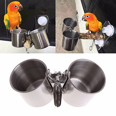 Keersi - Percha lima uñas de madera para jaula de pájaros: Amazon ...