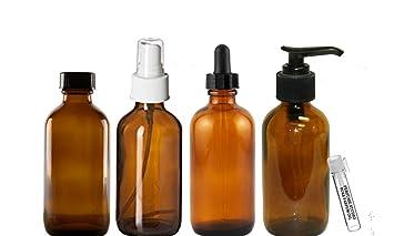 Amazon.com: Perfume Studio 4oz aceite esencial botellas de ...