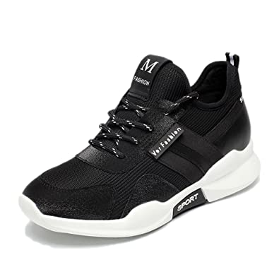 SHOES Xiaolin Schwarze Sportschuhe Freizeitschuhe Mädchen Laufschuhe  Student Flache Schuhe  Amazon.de  Schuhe   Handtaschen de4545a722