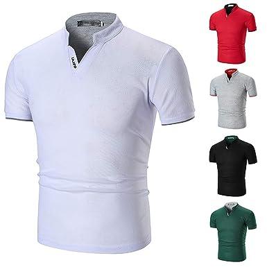 Manga Larga para Hombre Camisa Blusa de Playa de Lino de Algodón ...