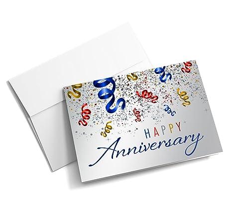Amazon.com: Confeti aniversario – tarjetas de aniversario ...