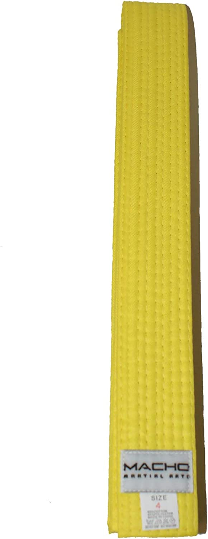 Macho Rank Karate Belts
