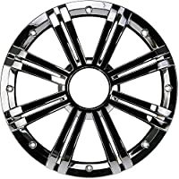 Kicker KMW10GCR KMW10GCR Marine Speaker Grille for KM10 10 Marine Subwoofer- Chrome