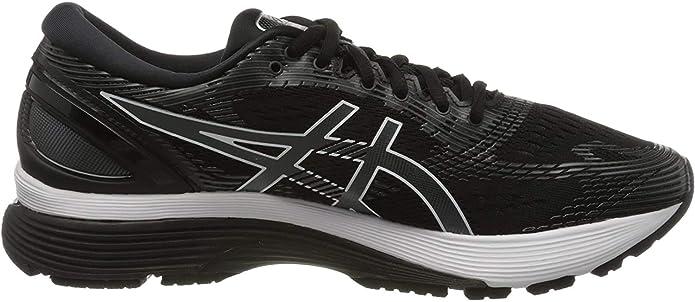 Asics Gel-Nimbus 21, Zapatillas de Running para Hombre, Negro (Black 1011A169-001), 41.5 EU: Amazon.es: Zapatos y complementos