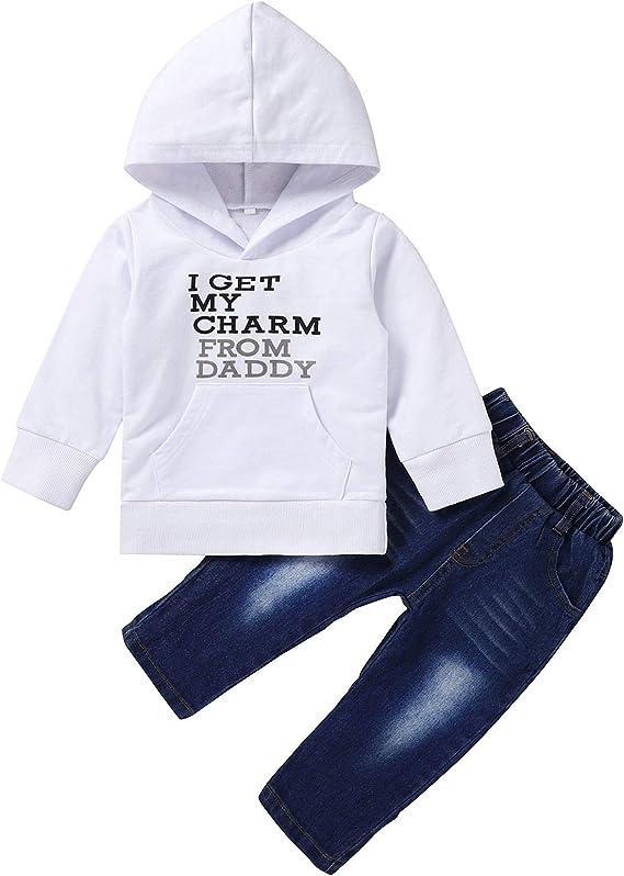 U/·nikaka 5-Pack Unisex Baby Cotton Long-Sleeve Bodysuits 0-12 Months