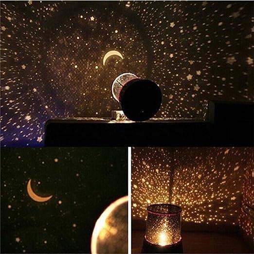 Proyector LED de luz nocturna estrellado cielo estrella maestro ...