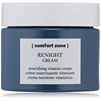 Comfort Zone Renight Cream Complete SiliconeFree Restorative Night Cream for All Skin Types with Hyaluronic Acid Vitamin E fl., Floral and softly woody, 2.02 Fl Oz, (Pack of 12)