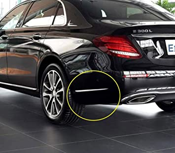 ABS Cromado Lateral Molduras Tiras decorativas Accesorios de coche Etiqueta engomada del ajuste para E-Class W213 E200l 300l 2016-2018: Amazon.es: Coche y ...