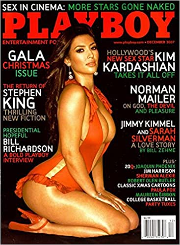 dca4532116a03 Playboy Magazine - December 2007 - Kim Kardashian  Amazon.com  Books