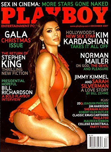 Playboy Magazine - December 2007 - Kim Kardashian